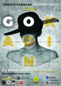 2019 Türkiye Kadınlar Go Şampiyonası Posteri