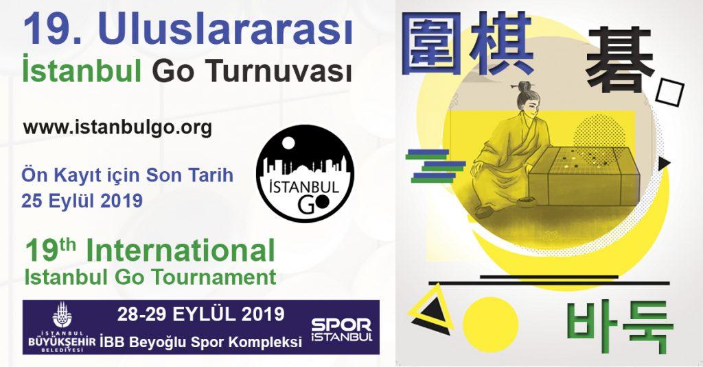 19. Uluslararası İstanbul Go Turnuvası Duyurusu
