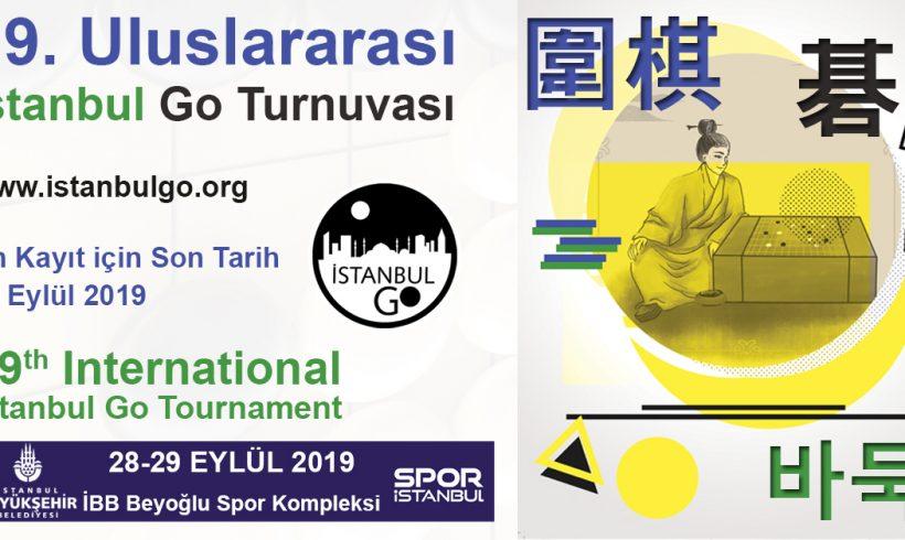 19. Uluslararası İstanbul Go Turnuvası ön kayıtları açıldı!